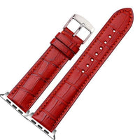 Apple Watch Band - Croco: Red - Croco / 42/44mm - BOGMAR