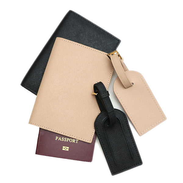 Passport & Luggage Tag - Saffiano: - BOGMAR