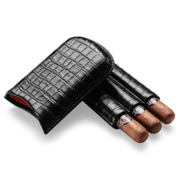 Cigar Case - Croco: - BOGMAR