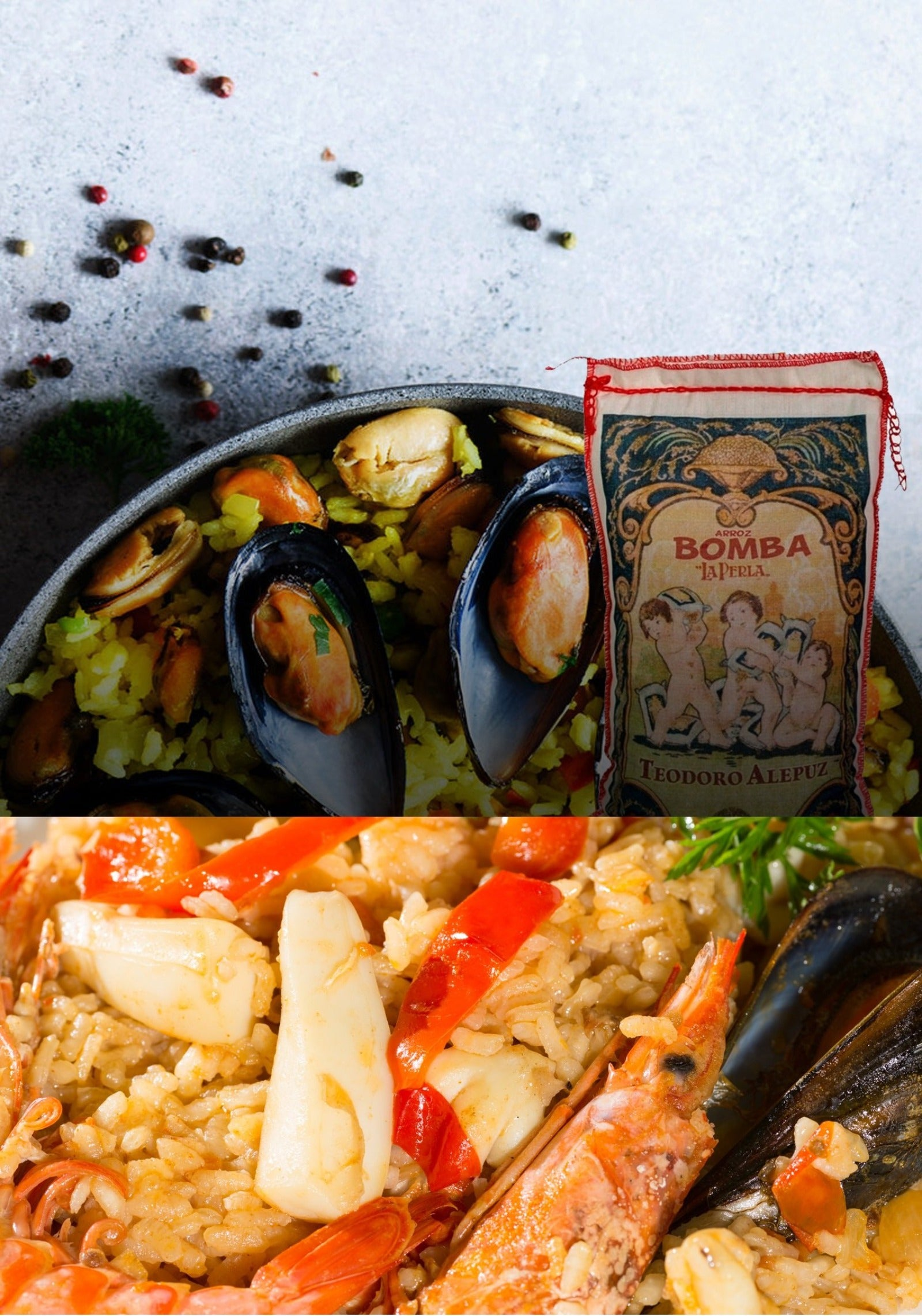 Best Paella Recipe with Bomda Rice