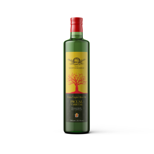Best Extra Virgin Olive Oil Olivar Santamaria high polyphenol