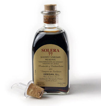 Solera 77 Sherry Vinegar by Videsan