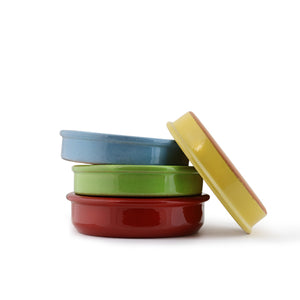 "Colored Terracotta <br> ""Cazuela"" <br> Clay Cookware <br> <br>"