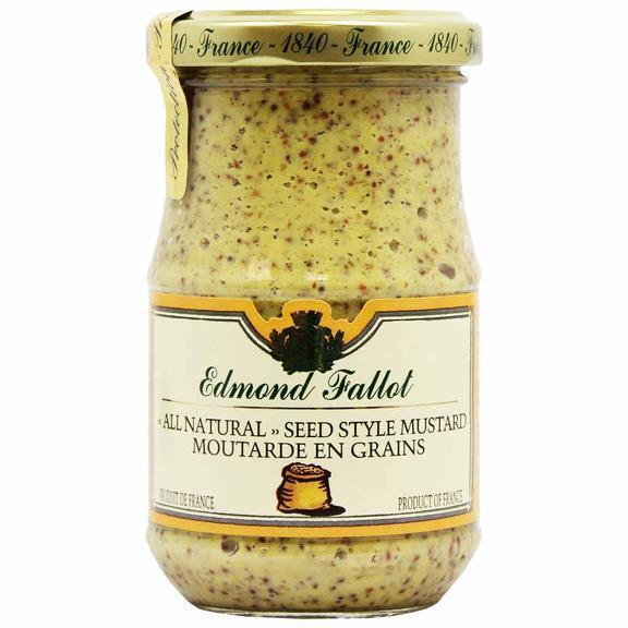 Edmond Fallot Old Fashioned Seeded Dijon Mustard