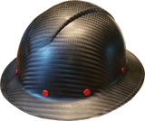 Carbon Fiber Hard Hat - Full Brim