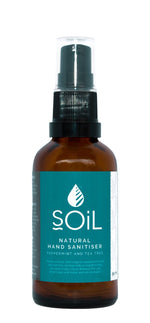 Natural Hand Sanitiser Peppermint And Tea Tree