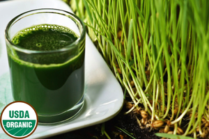Load image into Gallery viewer, organic wheatgrass juice