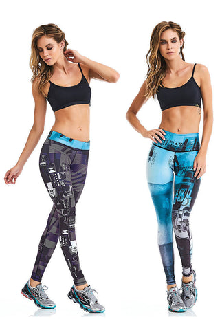 CAJU BRASIL Cute Double Faced Workout Leggings