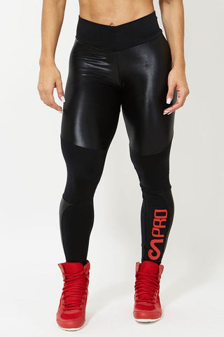 CANOAN Midnight Storm Cirre Thighs Crossfit Leggings