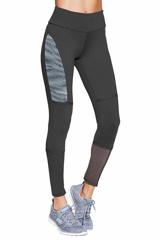 BIA BRAZIL Gray Suplex High Performance Workout Leggings