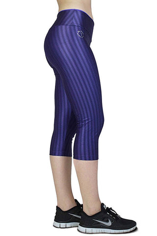 BIA BRAZIL High Performance Violet Workout Capri