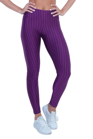 BIA BRAZIL Wide Waistband Texturized Workout Leggings