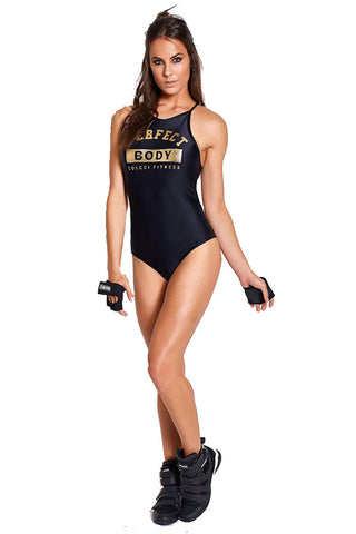 COLCCI FITNESS Perfect Body Back Opening Fashion Bodysuit