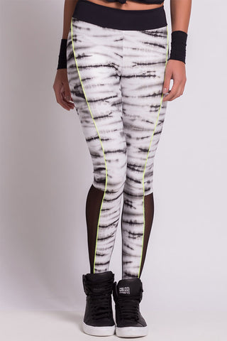COLCCI FITNESS ZEBRA YOGA PANTS