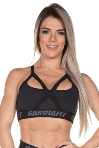 GAROTA FIT Go Lift Fashion Workout Sports Bra