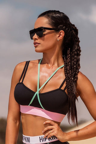 HIPKINI Desert Long Beach Sexy Outdoors Sports Bra