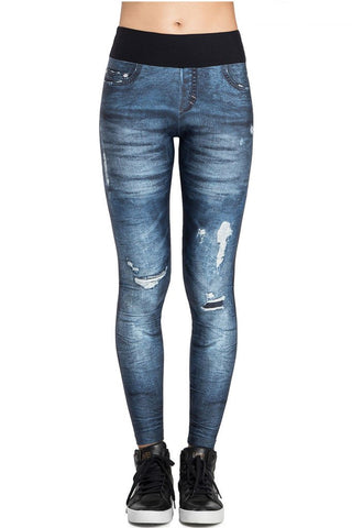 LIVE Riff Urban Power Denim Leggings