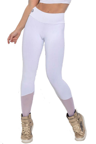 SUPERHOT All White Yoga Pants