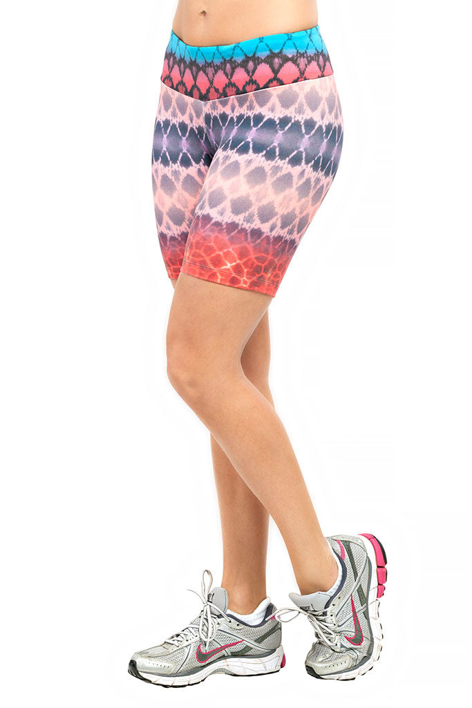 TRAILLINE Colourful Key Thick Waistband West Running Shorts