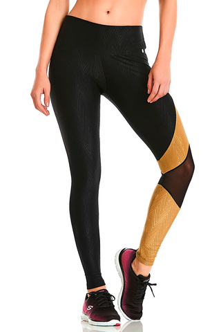 BRAZILIAN SEXY ATHLETIC LEGGINGS Asymmetric Style CAJU BRASIL