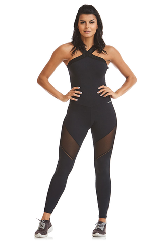 BRAZILIAN SEXY WORKOUT JUMPSUIT Padded NZ Future CAJU BRASIL
