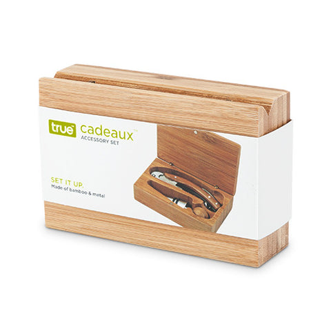 Bamboo 2-Piece Tool Accessory Gift Set