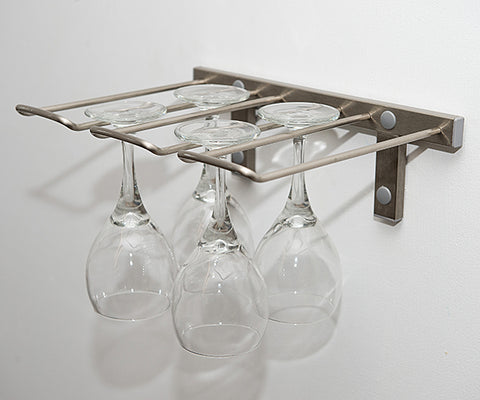 VintageView 4 Glass Stemware Rack