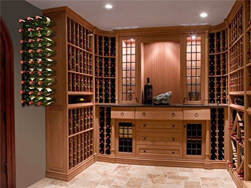 27 Bottle Epic Metal Wine Rack