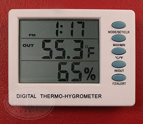 Digital Thermometer / Hygrometer Combo