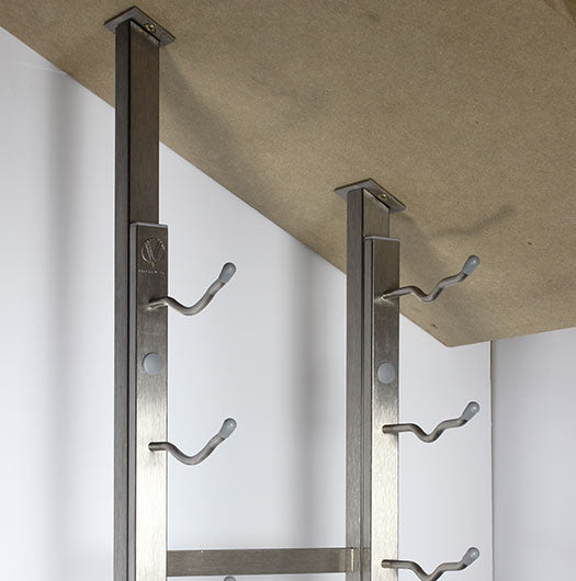 Floor to Ceiling Angled Bracket