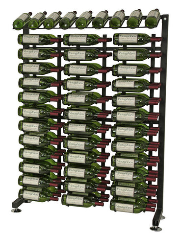 VintageView - 117 Bottle Half Aisle Wine Rack