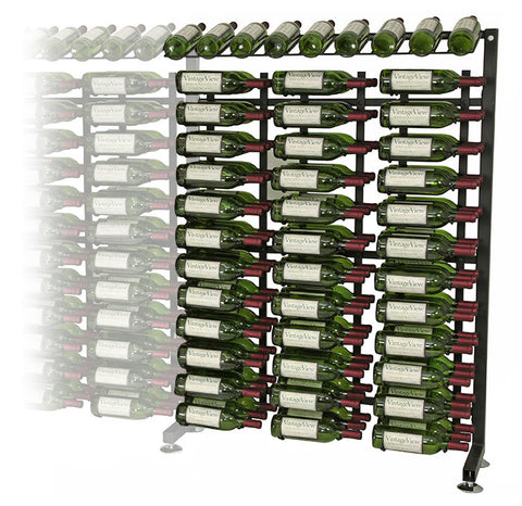 VintageView - 117 Bottle Half Aisle Extension Rack