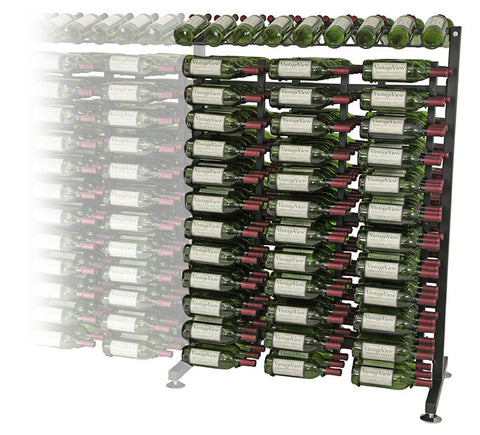 VintageView - 234 Bottle Full Aisle Extension Rack