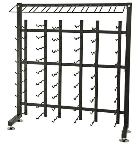VintageView - 90 Bottle Half Aisle Wine Rack