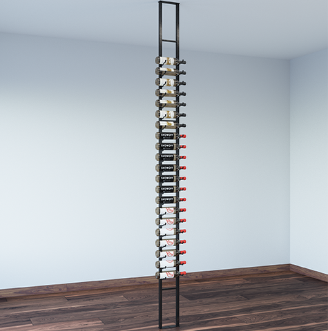 One Sided Floating Wall Wine Rack Kit