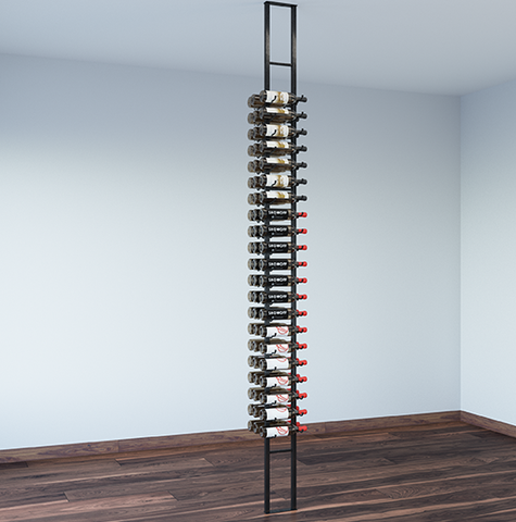 Two Sided Floating Wall Wine Rack Kit