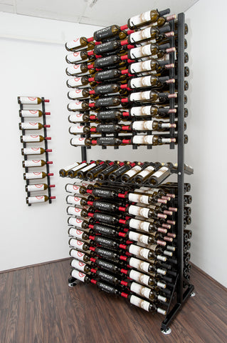 VintageView - 288 Bottle Island Display Rack
