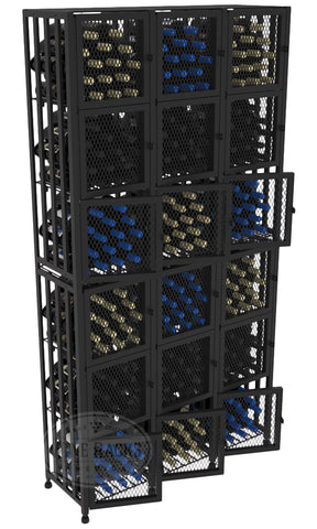 Case and Crate Locker Kit Tall 288 Bottles