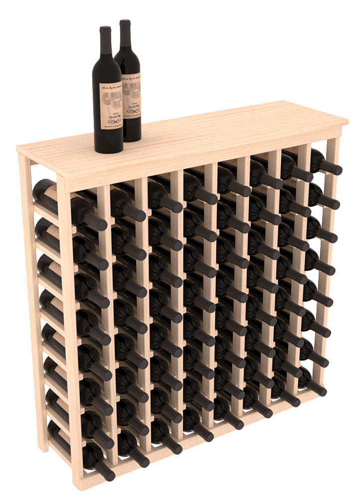 8 Col Tasting Table With Solid Top