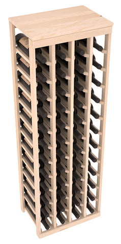 48 Bottle Table Top Wine Rack - Pine