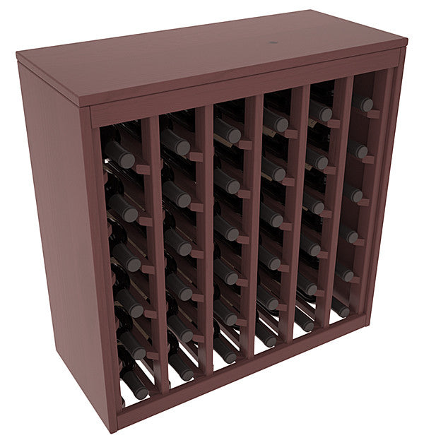 36 Bottle Deluxe Style Wine Rack - Pine