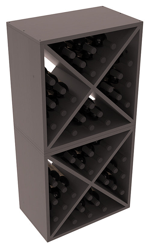 24 Bottle Solid X-Cube (x2) - Pine