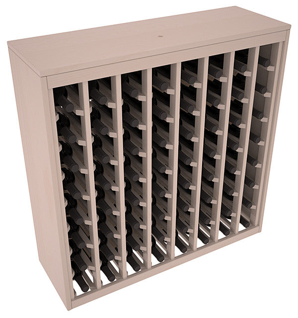 64 Bottle Deluxe Style Wine Rack - Pine