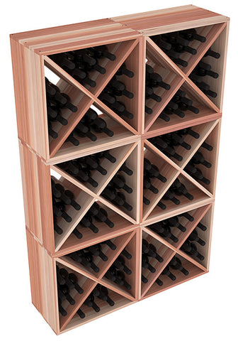 24 Bottle Solid X-Cube (x6) - Redwood