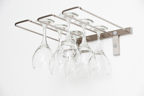 VintageView 6 Glass Stemware Rack