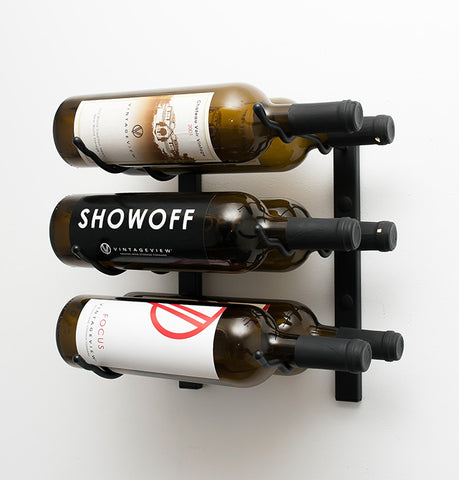 VintageView WS12 - 6 Bottle Wine Rack (2 Deep)