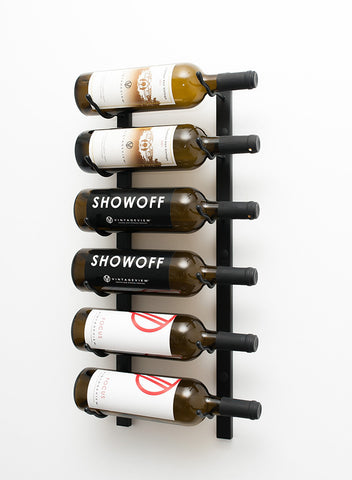 VintageView WS21 - 6 Bottle Wine Rack (1 Deep)