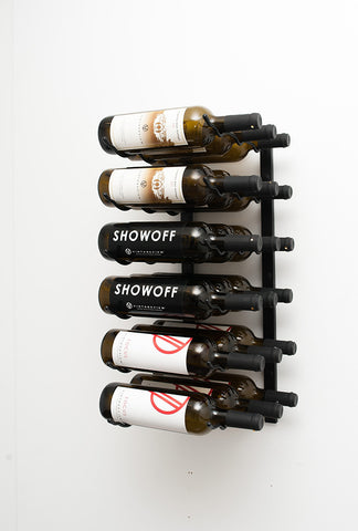 VintageView WS13 - 9 Bottle Wine Rack (3 Deep)