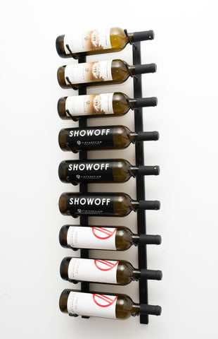 VintageView WS31 - 9 Bottle Wine Rack (1 Deep)
