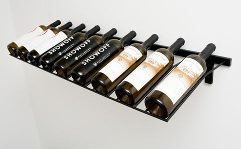 VintageView - 9 Bottle Presentation Rack